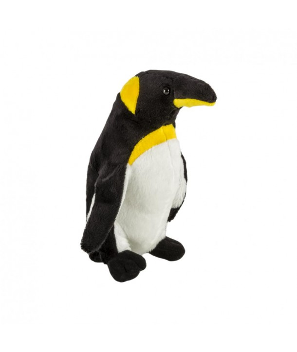 Pluș pinguin regal, 20 cm