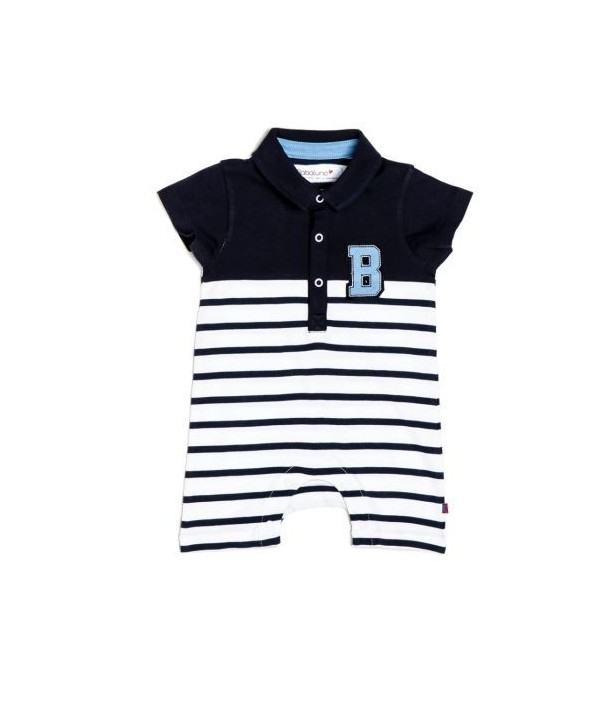 Body Babaluno culoare Alb/Bleumarin