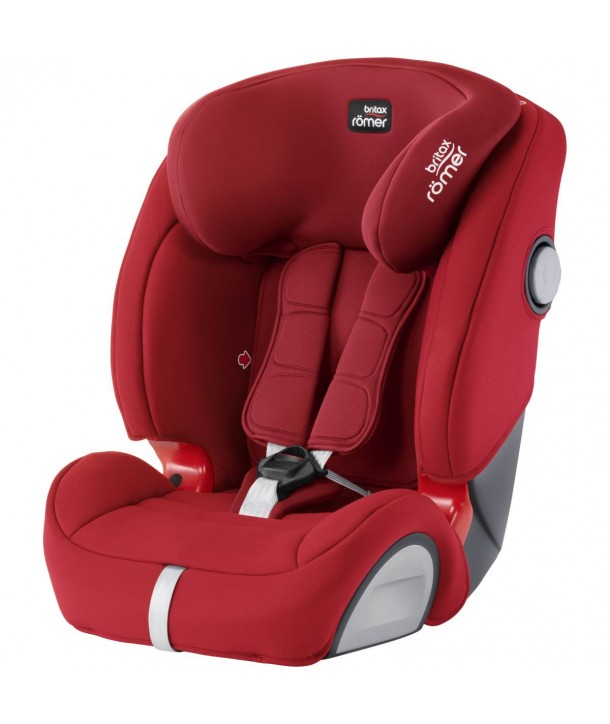 scaun auto britax romer evolva 123 sl sict flame red. Black Bedroom Furniture Sets. Home Design Ideas