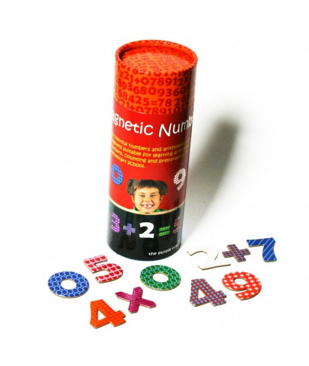 Lumea magnetilor - Numere magnetice