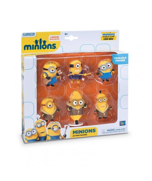 Set 6 minifigurine cu brate articulate
