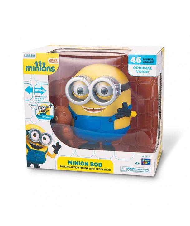 MINIONS - Figurina interactiva Bob