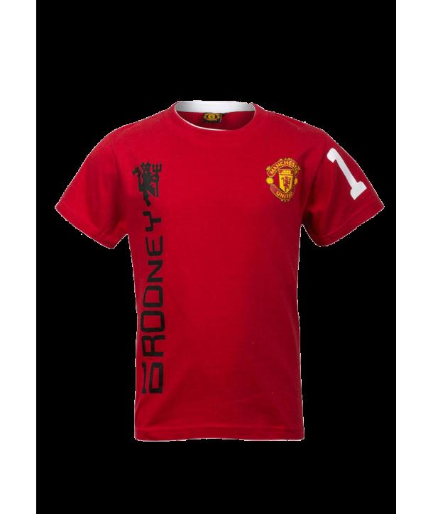 """Tricou rosu pentru baieti """"Manchester United"""""""