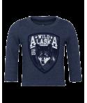 """Bluza Kids Korner albastru baieti """"Wild Alaska"""""""