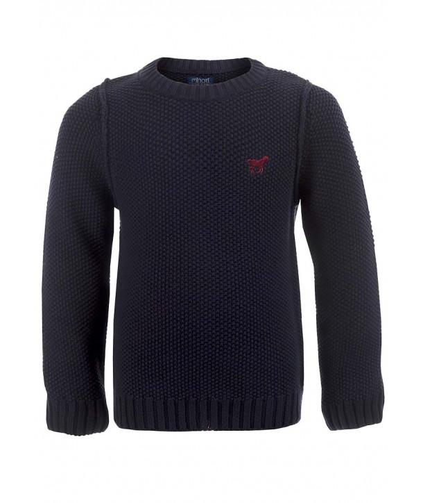 "Pulover Minoti tricotat ""Jumper"" bleumarin pentru baieti"