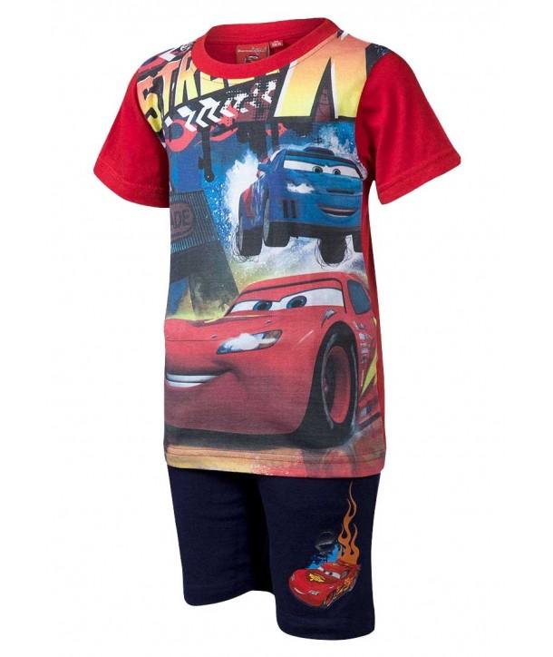 Set Cars Disney rosu pentru baieti