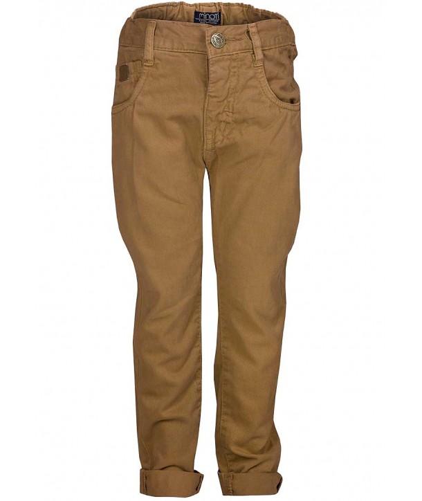 Pantaloni lungi bleumarin chino Minoti pentru bebelusi