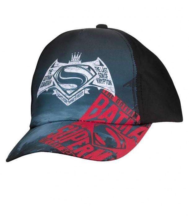 """Sapca negru/grafit pentru baieti """"Superman Batman"""""""