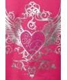 Hanorac fete Soul & Glory roz inchis