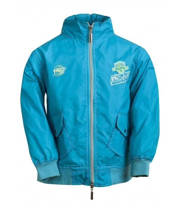 Jacheta ploaie turcoaz pentru fete