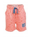 Pantaloni scurti Minoti fete burn-out design corai