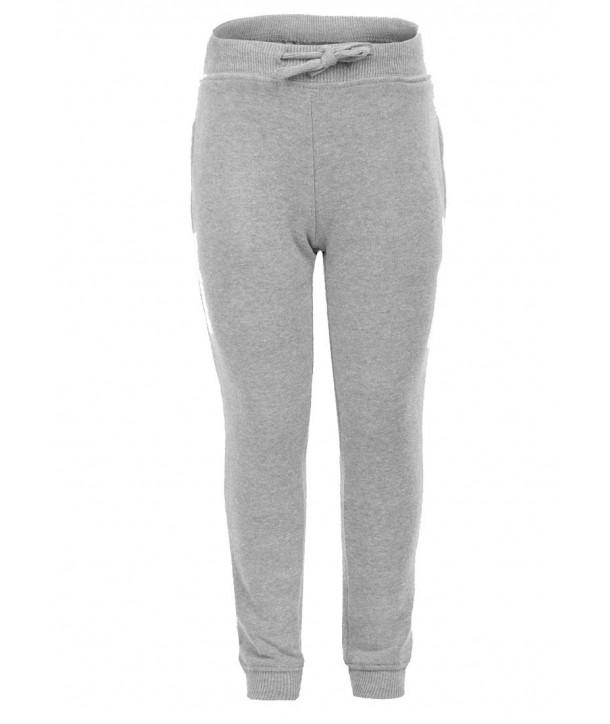 Pantaloni trening gri pentru fete