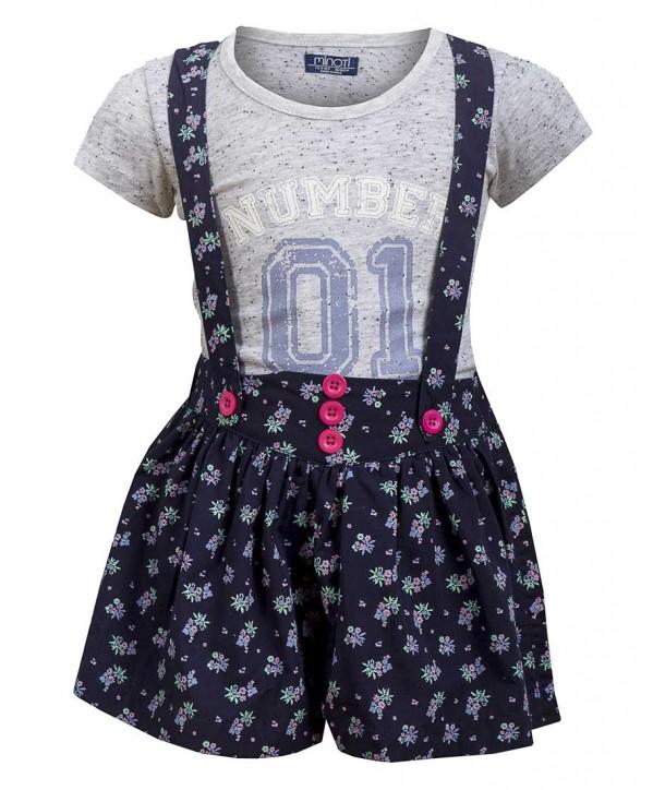 Set tricou/pantaloni scurti Minoti pentru bebelusi
