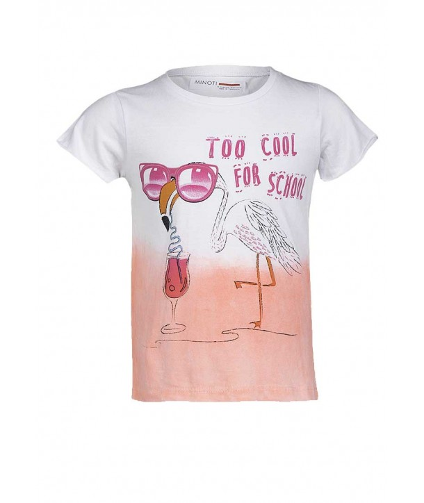"Tricou bebelusi Minoti corai ""To cool for school"""