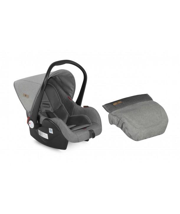 Cos Auto 0-13 Kg LIFESAVER Grey - Lorelli Premium
