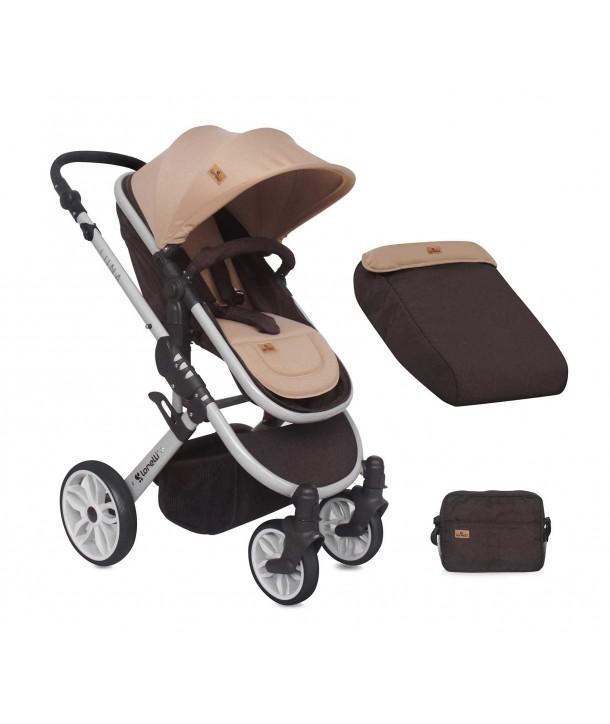 Carucior Sistem LUNA Brown & Beige - Lorelli Premium
