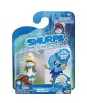 Set 2 Strumfi- Smurfette si Smurfblossom