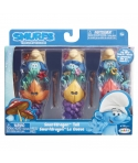Blister Strumfi - 3 figurine cu masca JKST29272