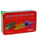 Puzzle - Unde locuiesc animalele