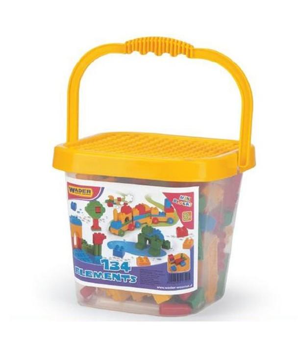 Cuburi in galeata 134 piese - Wader