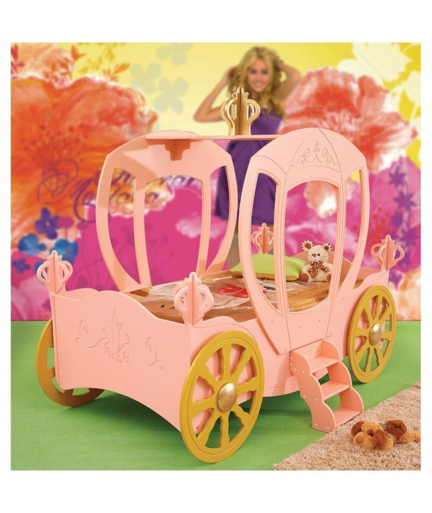 Pat in forma de masina Princess Carriage - Plastiko