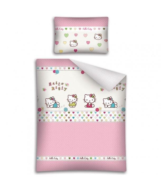 Lenjerie de pat Hello Kitty 100 x 135cm HK14A