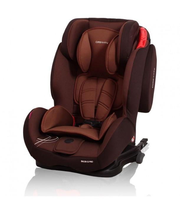 Scaun auto cu Isofix Salsa Q Pro - Coto Baby - Maro