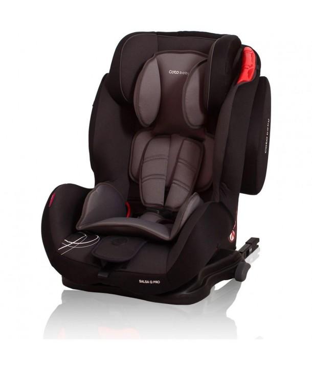 Scaun auto cu Isofix Salsa Q Pro - Coto Baby - Negru