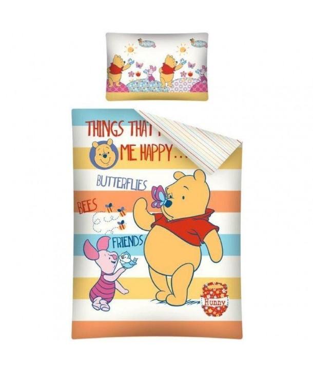 Lenjerie de pat Winnie the Pooh 100 x 135cm WTP19B