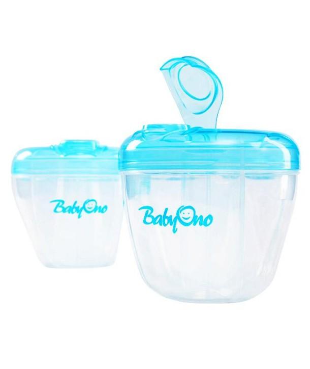 Recipient pentru lapte praf compartimentat - BabyOno