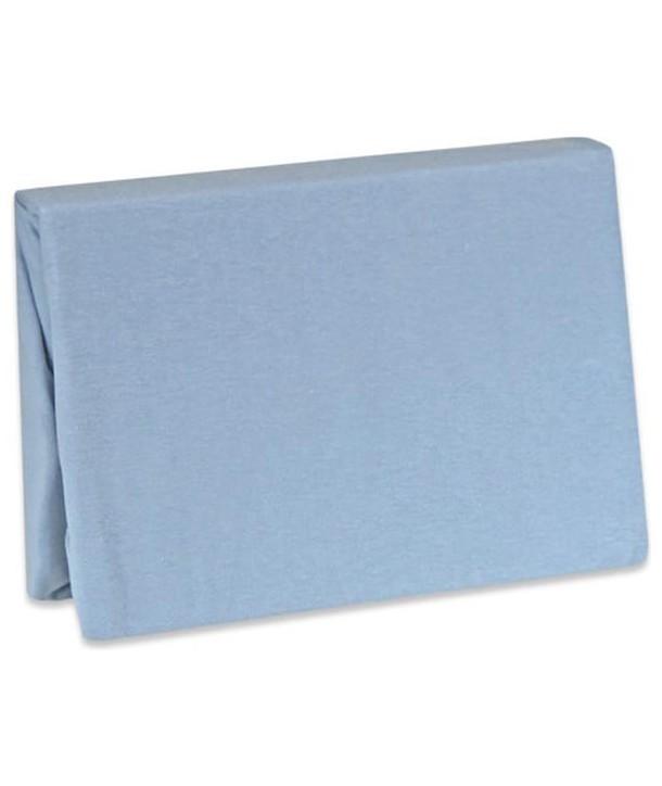 Husa pentru saltea Jersey 60x120cm - Baby Matex - Albastru