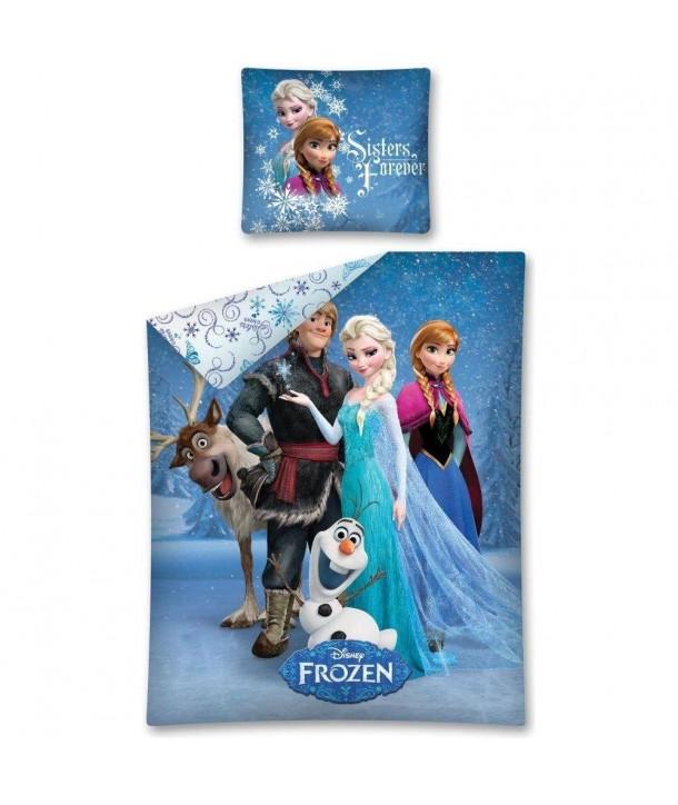 Lenjerie de pat Frozen 140x200 cm F9678