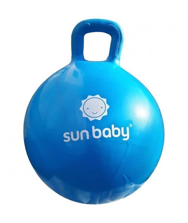 Minge gonflabila pentru sarituri cu maner - Sun Baby - Albastru