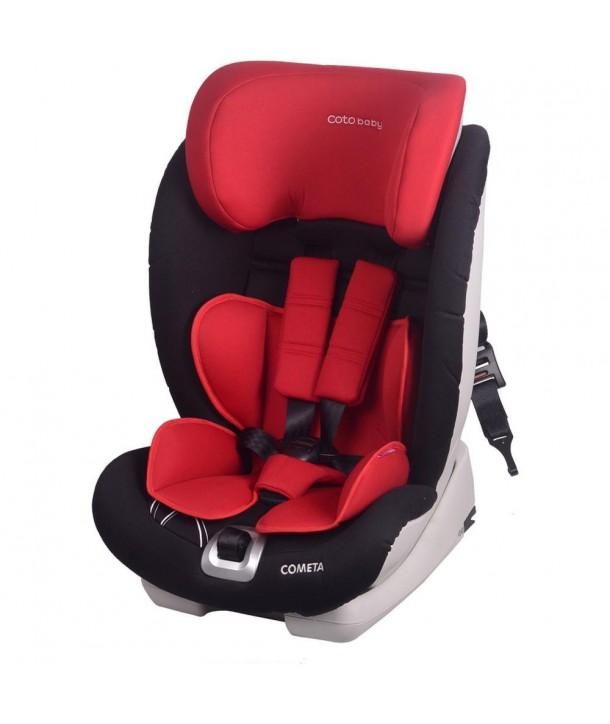 Scaun auto cu Isofix Cometa - Coto Baby - Rosu
