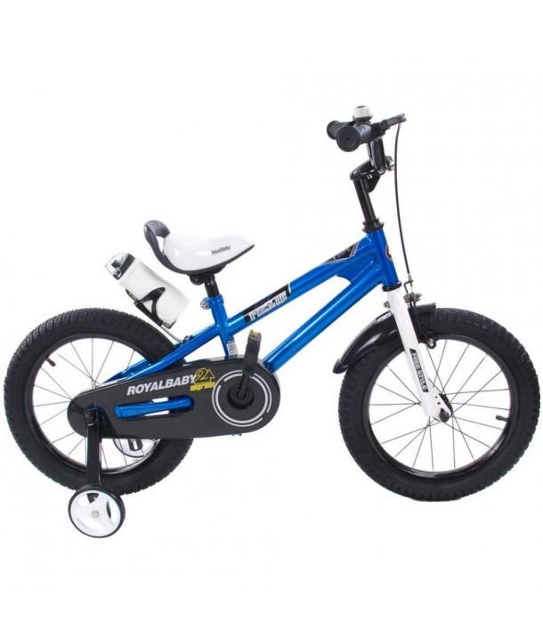 Bicicleta Freestyle BMX 16 - Sun Baby - Albastru