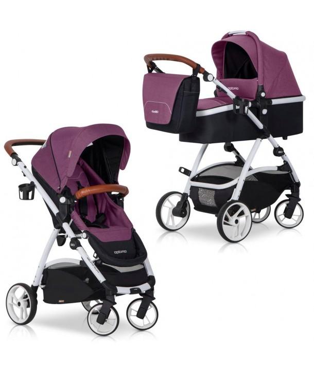 Carucior nou-nascuti Optimo 2 in 1 - Easy Go - Purple
