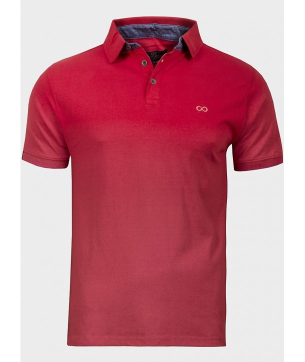 Tricou polo rosu ENDLESS