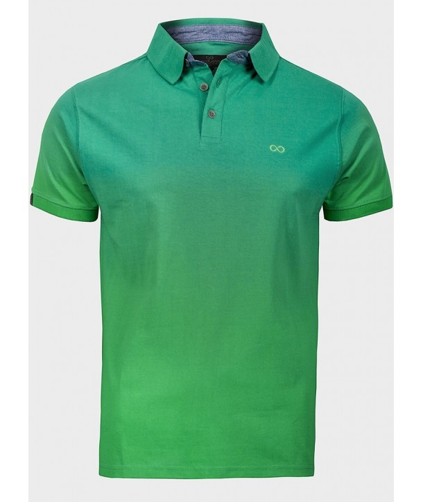 Tricou polo verde ENDLESS
