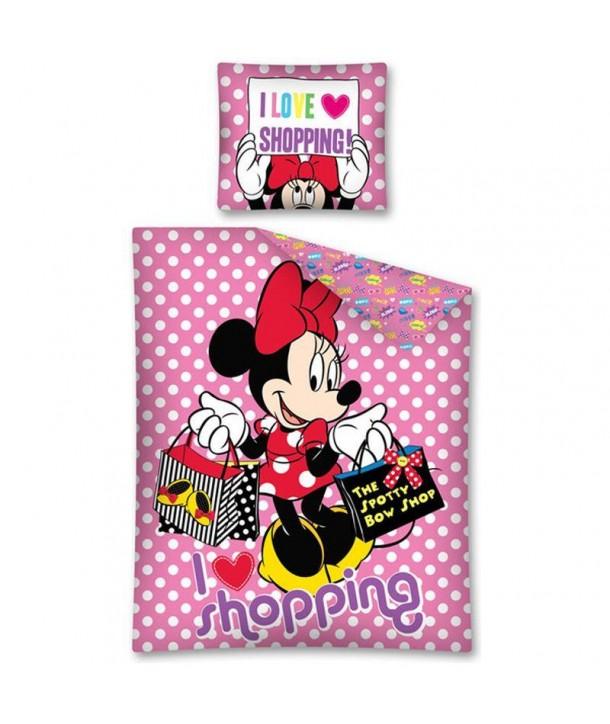Lenjerie de pat Minnie Mouse 140 x 200cm STC05DC