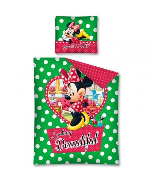 Lenjerie de pat Minnie Mouse 140 x 200cm STC12A