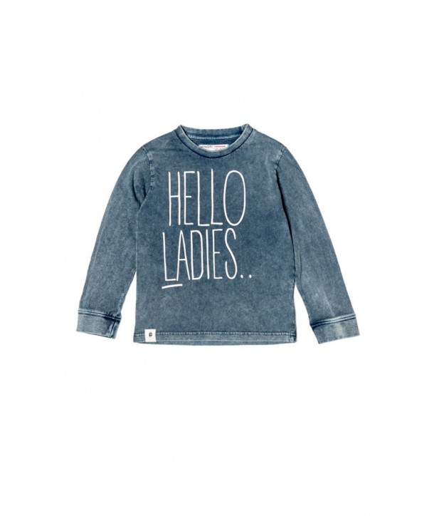 "Bluza ""Hello Ladies"" navy"