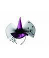 Bentiță cu palarie, culoare violet si ne