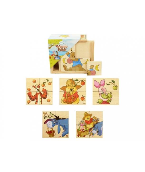 Puzzle de lemn, Winnie Pooh