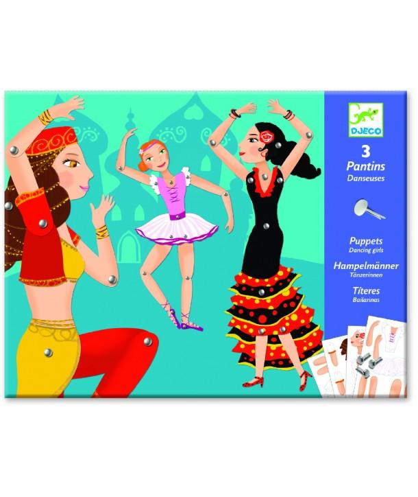 Joc creativ Dansatoare în mișcare- Djeco