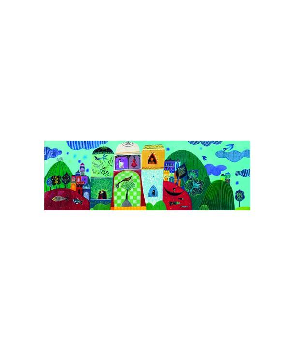 Puzzle Djeco Visul Aureliei 500 piese