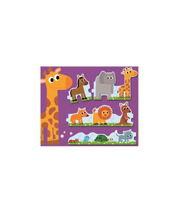 Puzzle duo Djeco De la mic la mare