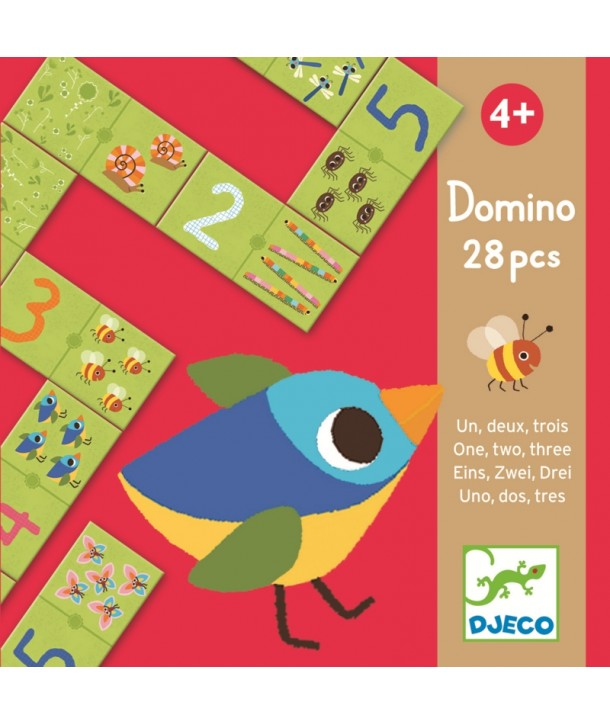 Domino numere Djeco