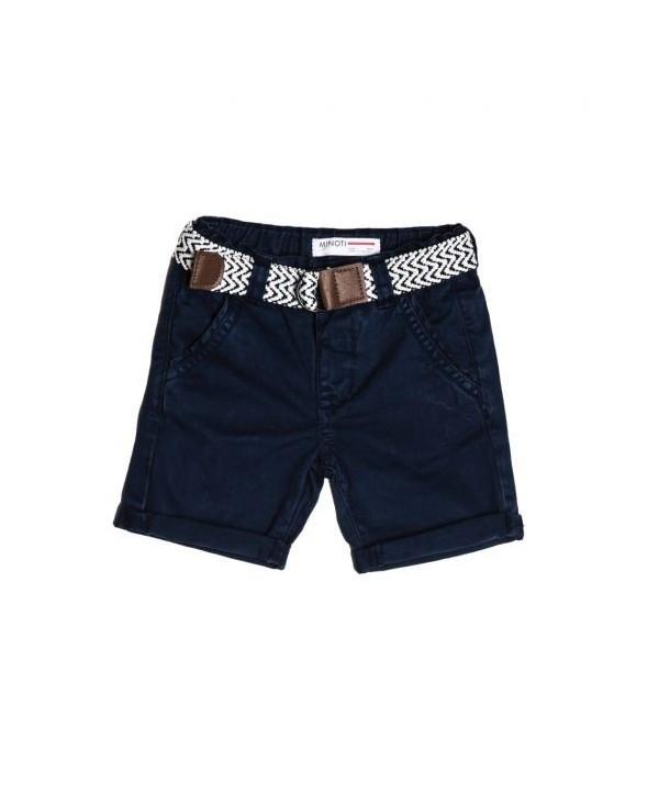 Pantaloni scurti chino bleumarin