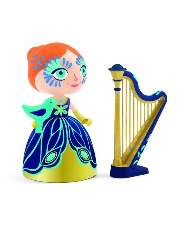 Prințesa Elisa cu harpa