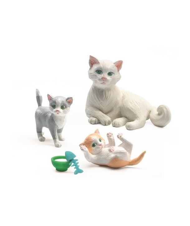 Figurine Djeco, pisicuțe